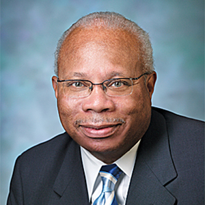 Board of trustees member James Johnson