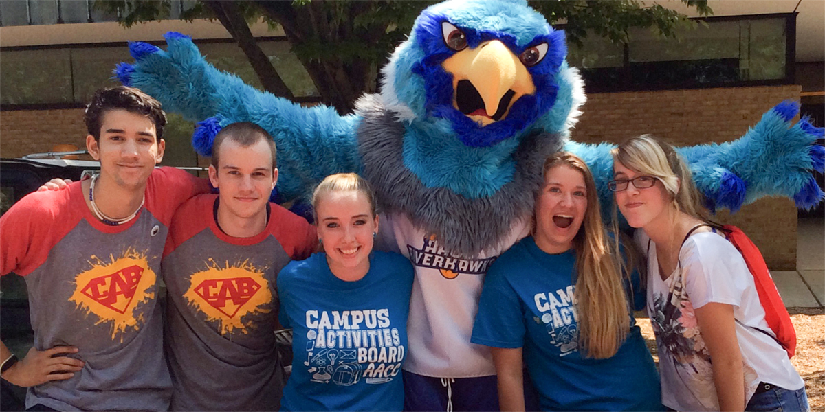 Swoop with students