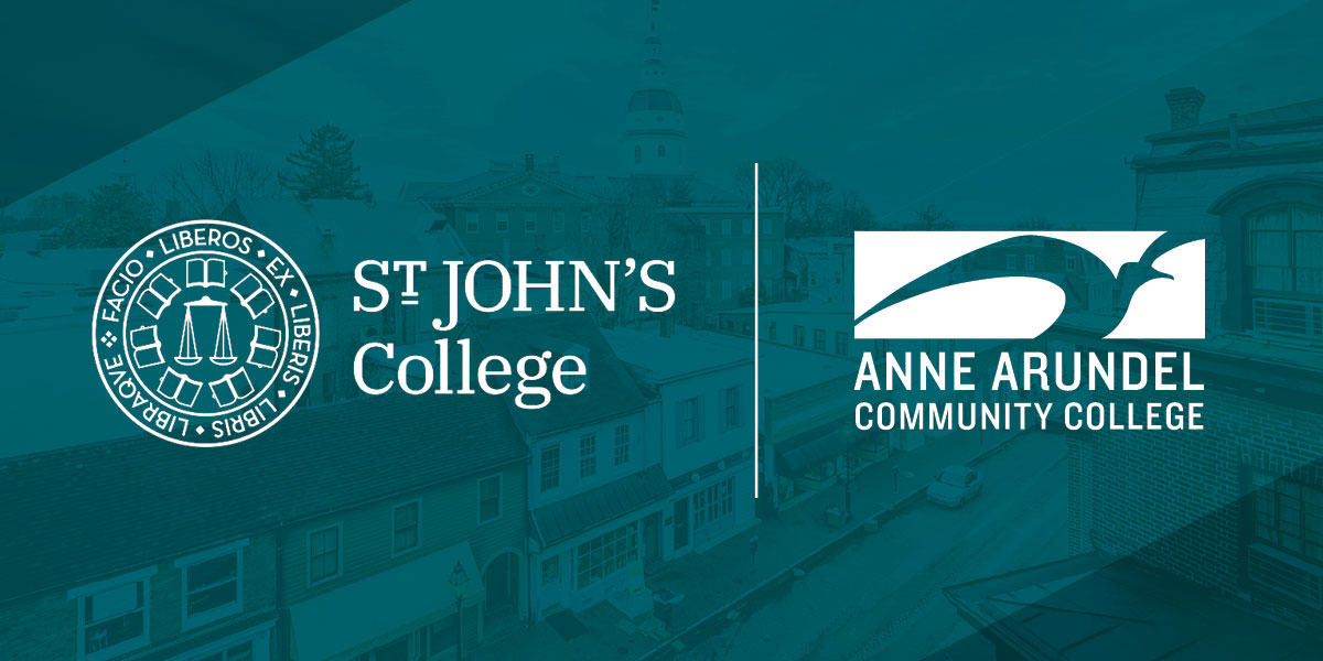 Image of AACC and St. John's logos.