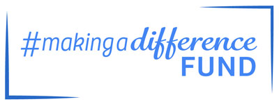 Logo for the #MakingaDifference fund.