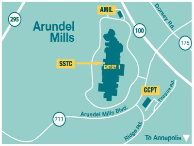 Arundel Mills Map Location & Maps   Anne Arundel Community College